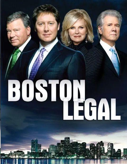 波士顿法律 第四季的海报