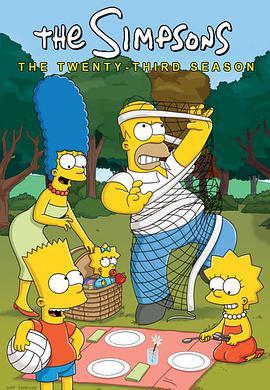辛普森一家 第二十三季的海报