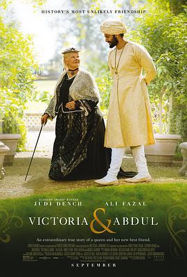 维多利亚与阿卜杜勒的海报