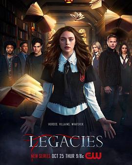 吸血鬼后裔 第一季的海报