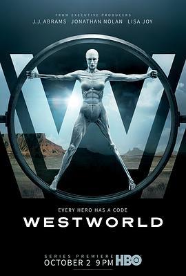 西部世界 第一季的海报