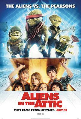 楼上的外星人的海报