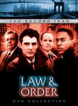 法律与秩序 第二季的海报