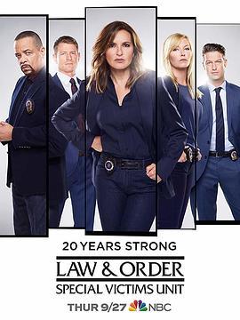 法律与秩序:特殊受害者 第二十季的海报