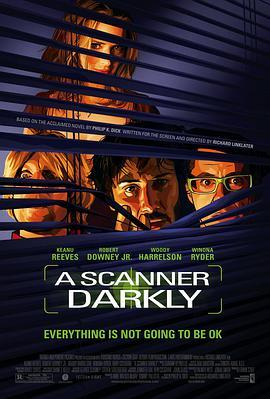 黑暗扫描仪的海报