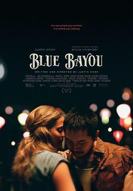 蓝色海湾的海报