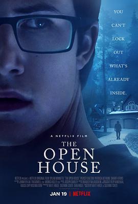 敞开的房子的海报