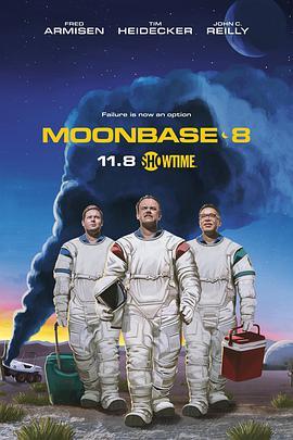 月球基地8号的海报