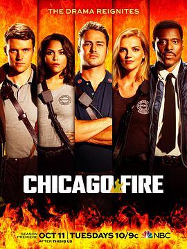 芝加哥烈焰 第五季的海报