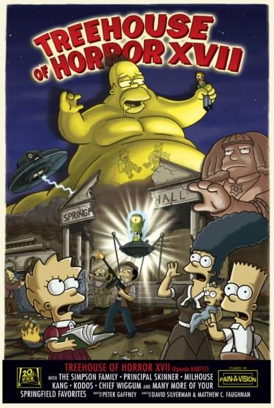 辛普森一家 第十八季的海报
