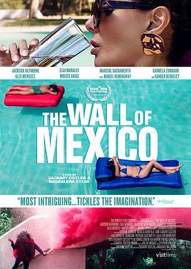 墨西哥围墙的海报