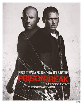 越狱 第五季的海报