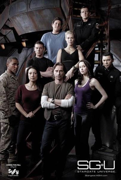 星际之门:宇宙 第二季 第二季的海报