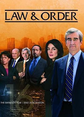 法律与秩序 第十六季的海报