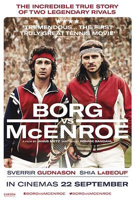 博格对战麦肯罗的海报