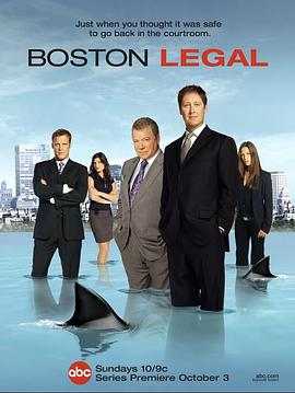 波士顿法律 第一季的海报