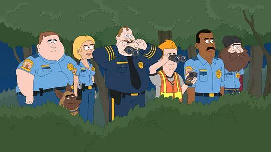 天堂镇警局 第一季的剧照