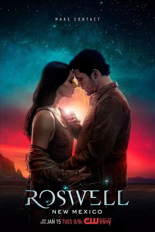 罗斯威尔 第一季的海报
